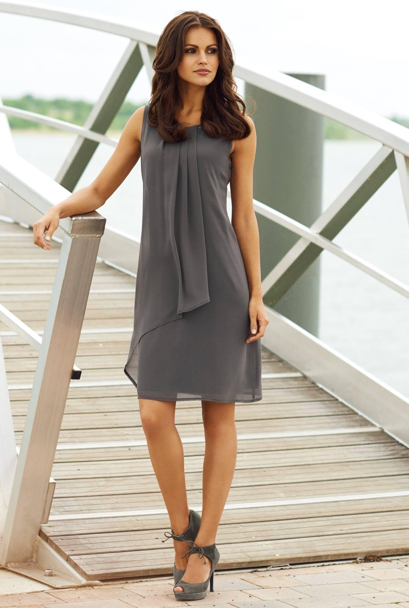 Kleid in A-Linie