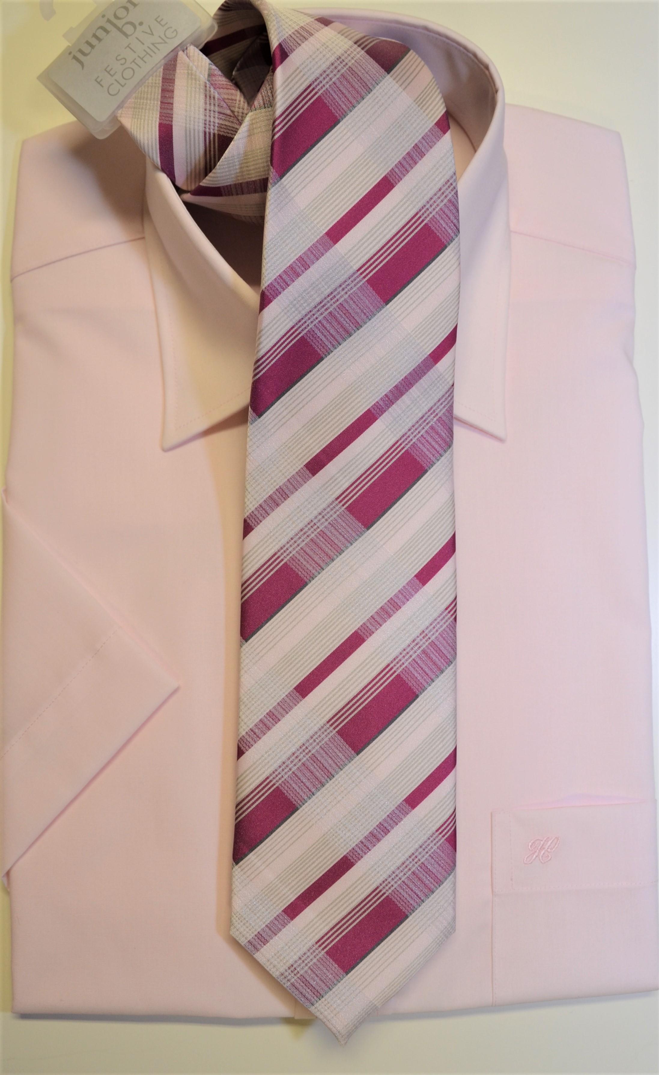 Junior-Krawatte pink