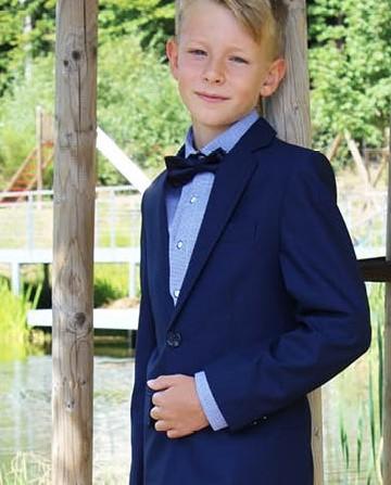 Junior-Anzug blau