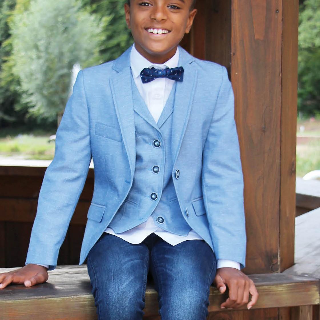 Junior Weste Slim-Fit