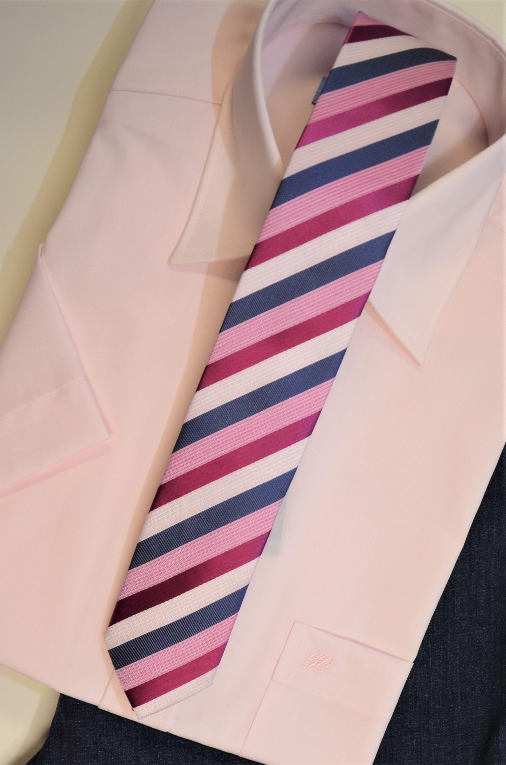 Junior-Krawatte Slim Streifen