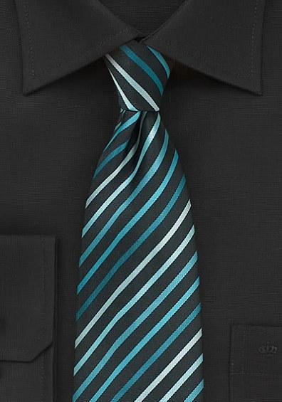 Business-Krawatte Streifendesign