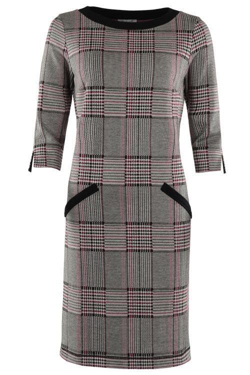 Hajo Kleid mit Glecheck-Muster