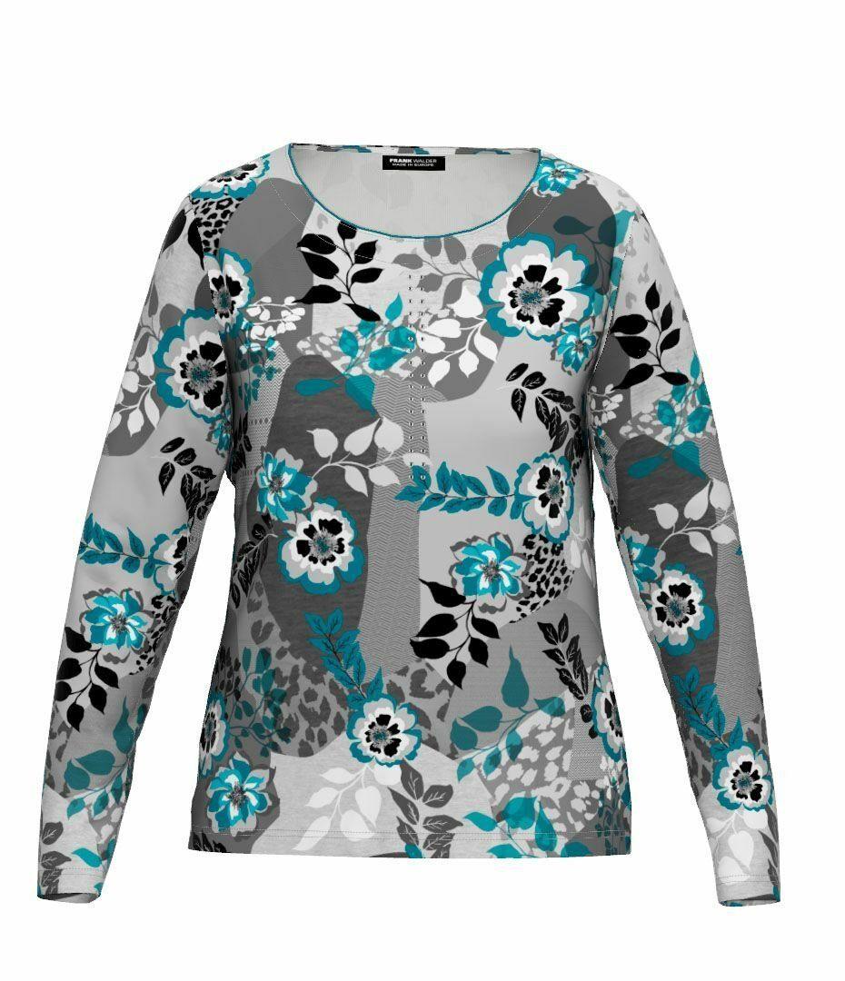 Shirt mit Blütenprint