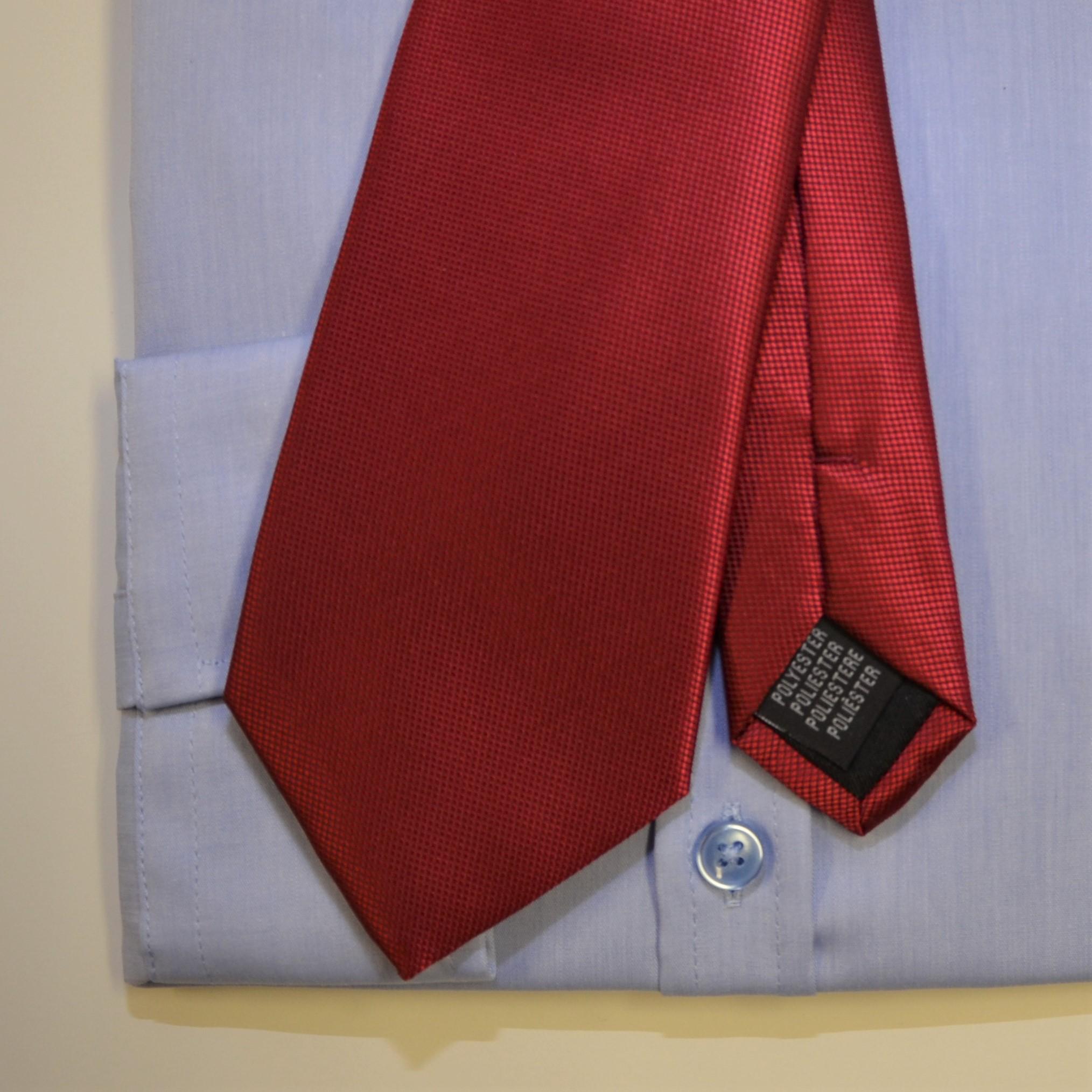 Krawatte weinrot
