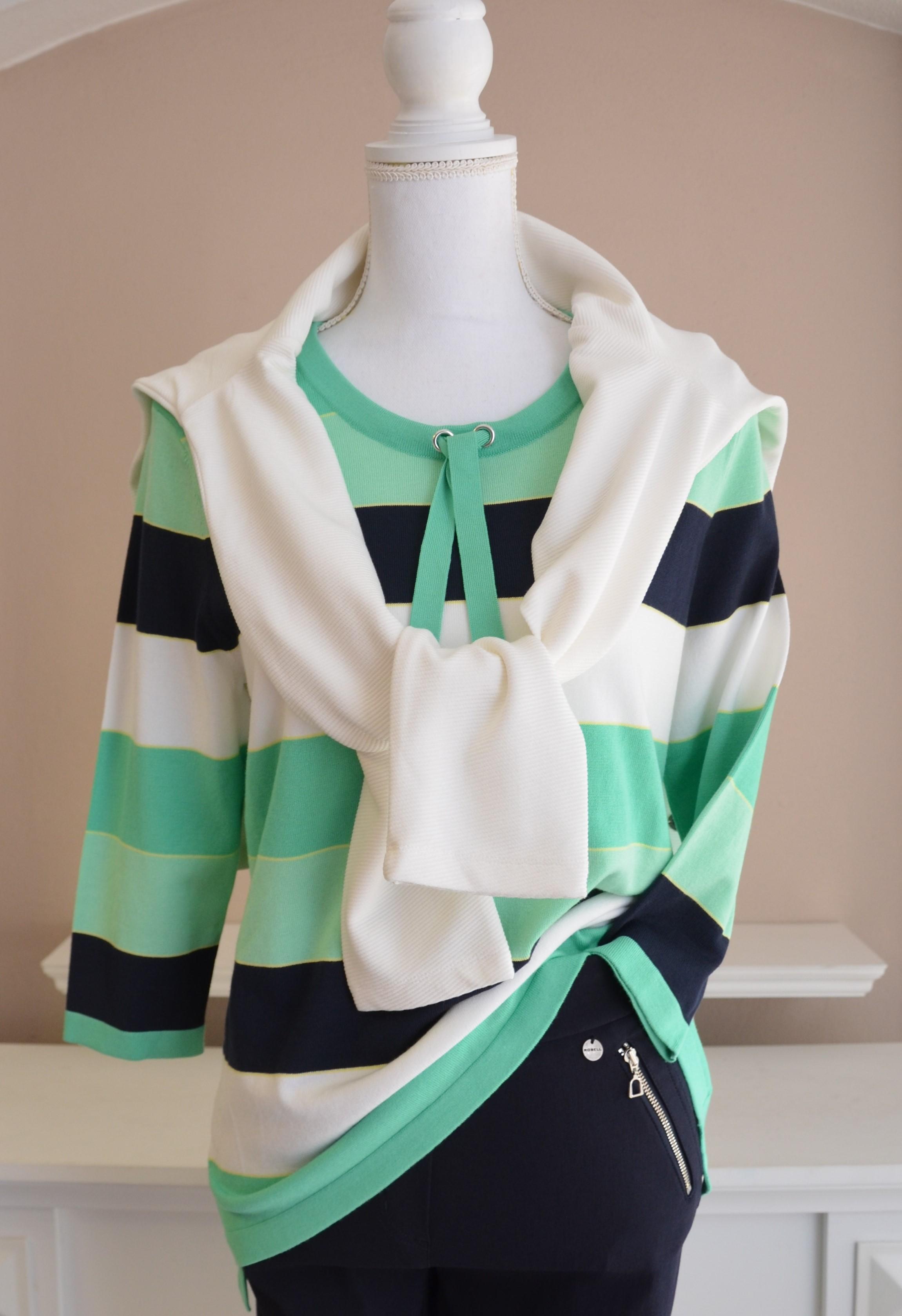 Hochwertiger 3/4-Arm Pullover