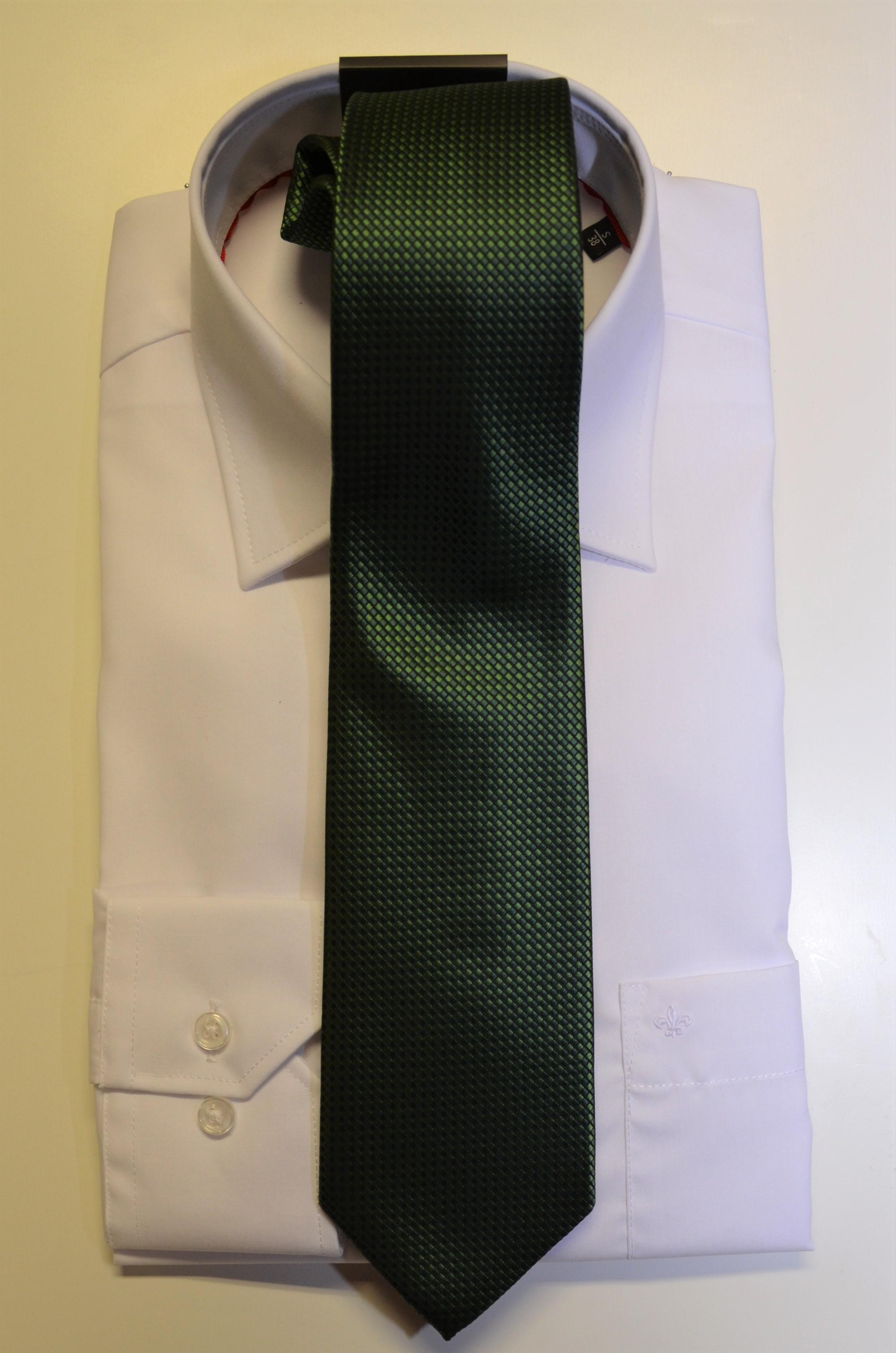 Junior-Krawatte grün
